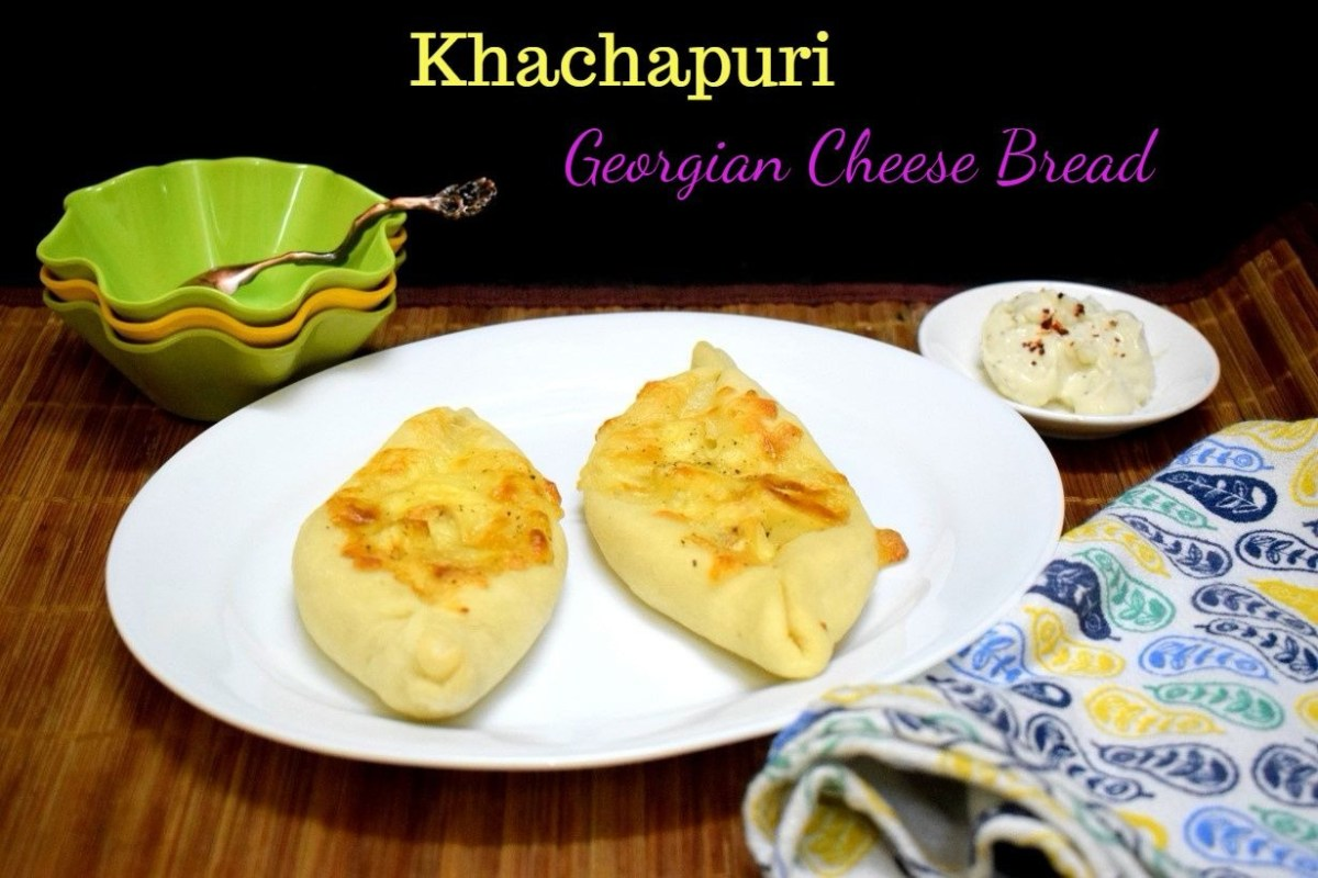 Khachapuri ~ Georgian Cheese Bread